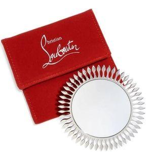Christian Louboutin Pocket Mirror & Pouch